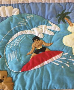 Quilted Surfer