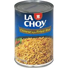 La Choy Rice in a Can